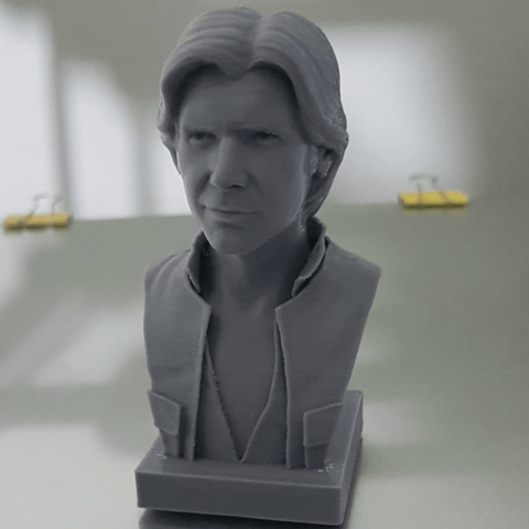 Free 3d printer model Han Solo Bust, Toshi_TNE