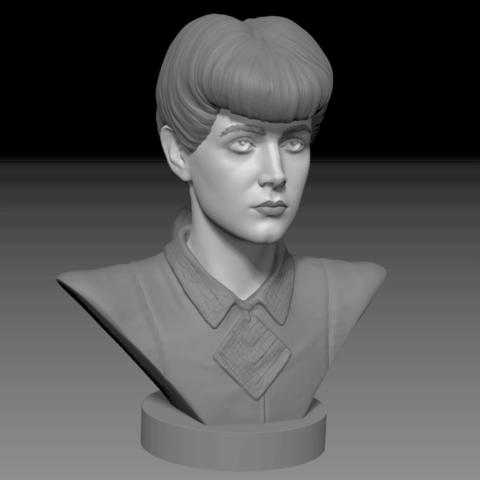 Free 3D printer designs Rachel, Toshi_TNE