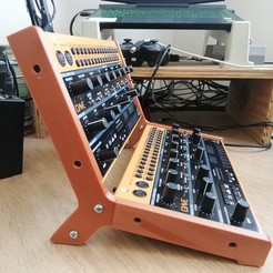 IMG_20201126_125052.jpg Download STL file 2X Behringer Crave Synthesizer Stand • Object to 3D print, Pandurris