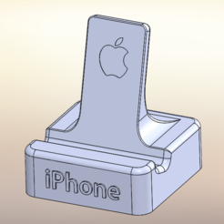 Télécharger fichier STL gratuit support iphone, EasyRepRap