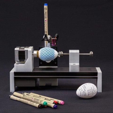 Download free 3D printer designs Linear Rail Eggbot, 8ran