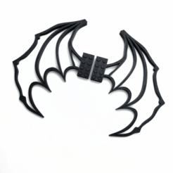 Free 3d printer model Lego Dragon Wings, 8ran