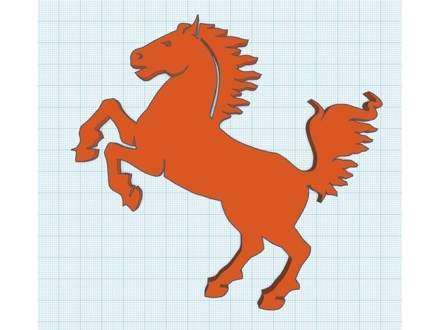 75f60a0fc4890882425a751c4e49375d_preview_featured.jpg Download free STL file Horse Silhouette • 3D printing design, 8ran