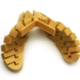 Free stl files Articulated Butterfly, 8ran