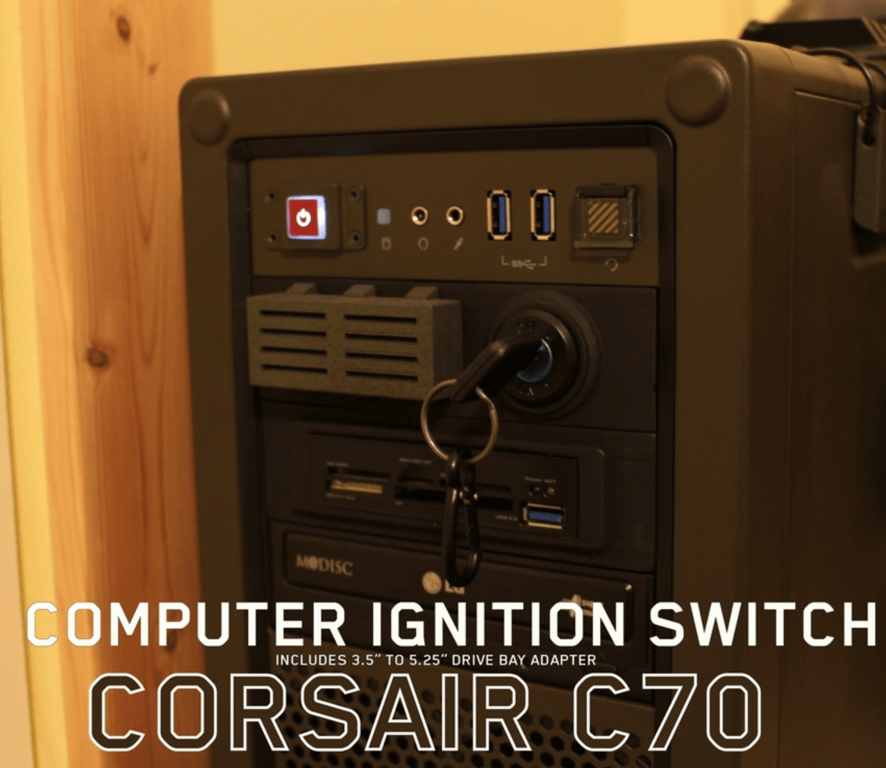 Capture d'écran 2018-04-09 à 14.15.15.png Download free STL file Corsair C70 Ignition Key • Object to 3D print, DragonflyFabrication