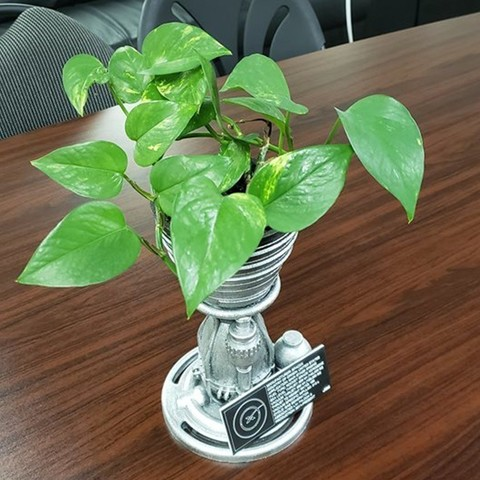 Download free 3D printer designs SpaceX Thruster (Planter Pot), DragonflyFabrication