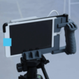 Free STL files Structure Sensor Tripod/Handle Mount, DragonflyFabrication