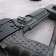 Free STL file Airsoft AK74 Stock (Folding & Fixed), DragonflyFabrication