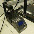 Download free 3D printing designs CR10 Spool Holder, DragonflyFabrication