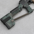 Capture d'écran 2018-04-09 à 14.24.44.png Download free STL file Airsoft AK74 Stock (Folding & Fixed) • 3D printable template, DragonflyFabrication