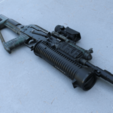 Free 3D printer model Airsoft Bizon Front End, DragonflyFabrication