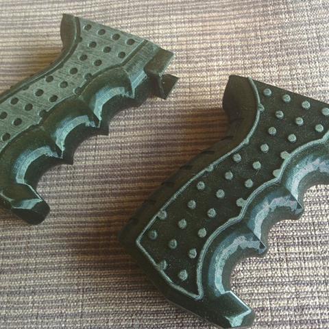 Capture d'écran 2018-04-09 à 14.19.51.png Download free STL file Airsoft AK74 Grip • 3D printer model, DragonflyFabrication