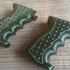 Download free 3D printing designs Airsoft AK74 Grip, DragonflyFabrication