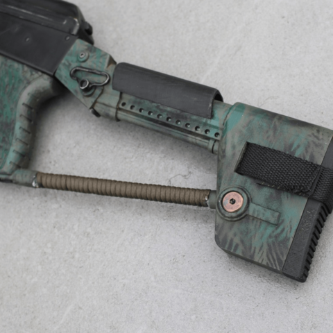 Capture d'écran 2018-04-09 à 14.24.50.png Download free STL file Airsoft AK74 Stock (Folding & Fixed) • 3D printable template, DragonflyFabrication