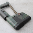 Diseños 3D gratis Airsoft AK74 Stock (plegable y fijo), DragonflyFabrication