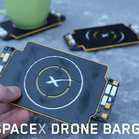 Capture d'écran 2018-04-09 à 14.17.21.png Download free STL file SpaceX Coaster • 3D printable template, DragonflyFabrication