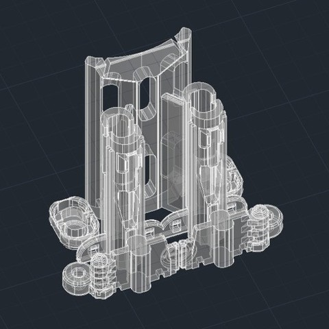 49d6c8eb563e87d55edd02e12e92e5bf_preview_featured.jpg Download free STL file Double Barrel Candy Corn Launcher • 3D printer design, DragonflyFabrication