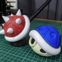 Descargar modelos 3D Spiny Shell Mario Bross (Pen holder), Niel09