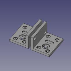 Télécharger objet 3D Supports moteur JGY-370, FOXNEGRO