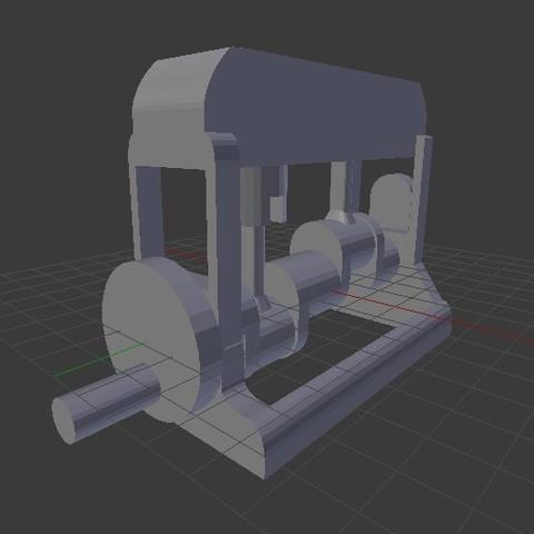 Fotouuu2.jpg Télécharger fichier STL gratuit Moteur fonctionnel • Plan à imprimer en 3D, Franed
