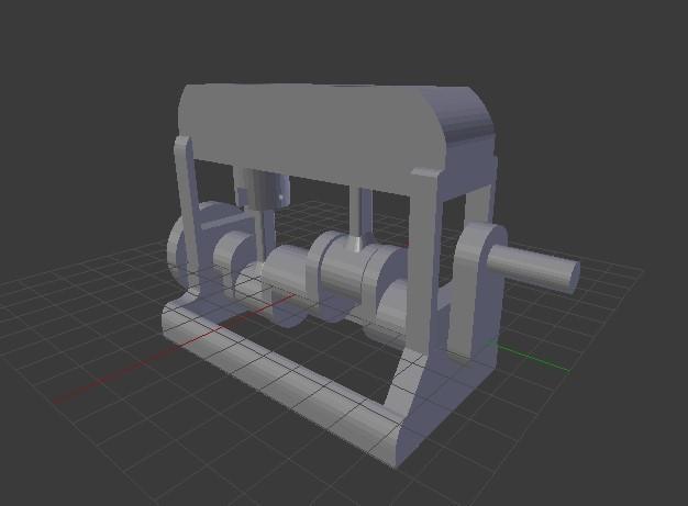 Fotouuu.jpg Télécharger fichier STL gratuit Moteur fonctionnel • Plan à imprimer en 3D, Franed