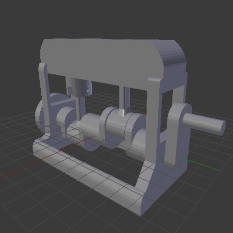 Download free 3D printer templates Functional Engine , Franed