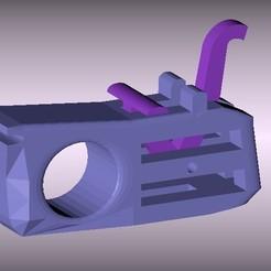 3D print model Finger Gun, Franed