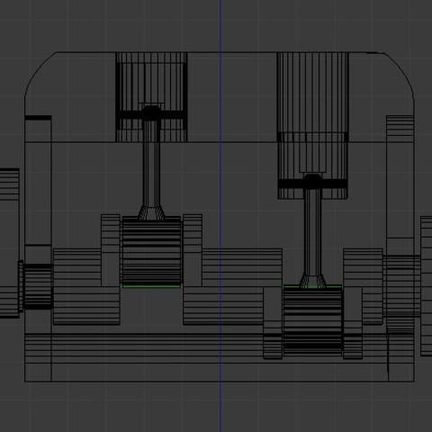 Fotouuu3.jpg Télécharger fichier STL gratuit Moteur fonctionnel • Plan à imprimer en 3D, Franed
