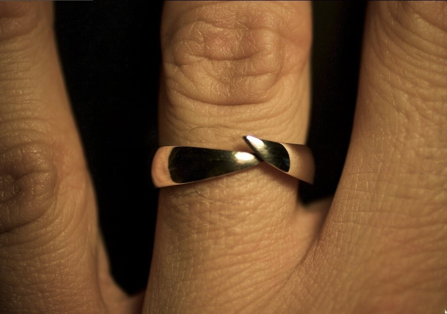 3.jpg Download STL file WEDDING RING - 001 • Model to 3D print, tulukdesign