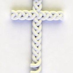 Download 3D printing models BRAIDING CROSS, tulukdesign