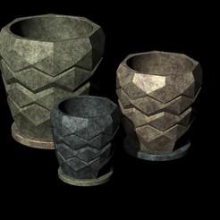 Télécharger fichier STL pot de fleurs... • Design à imprimer en 3D, tulukdesign