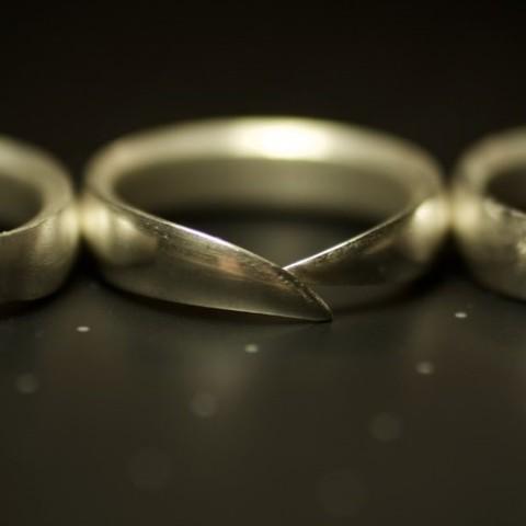 5.jpg Download STL file WEDDING RING - 001 • Model to 3D print, tulukdesign