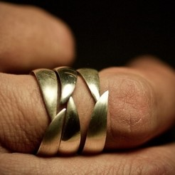 STL files WEDDING RING - 001, tulukdesign