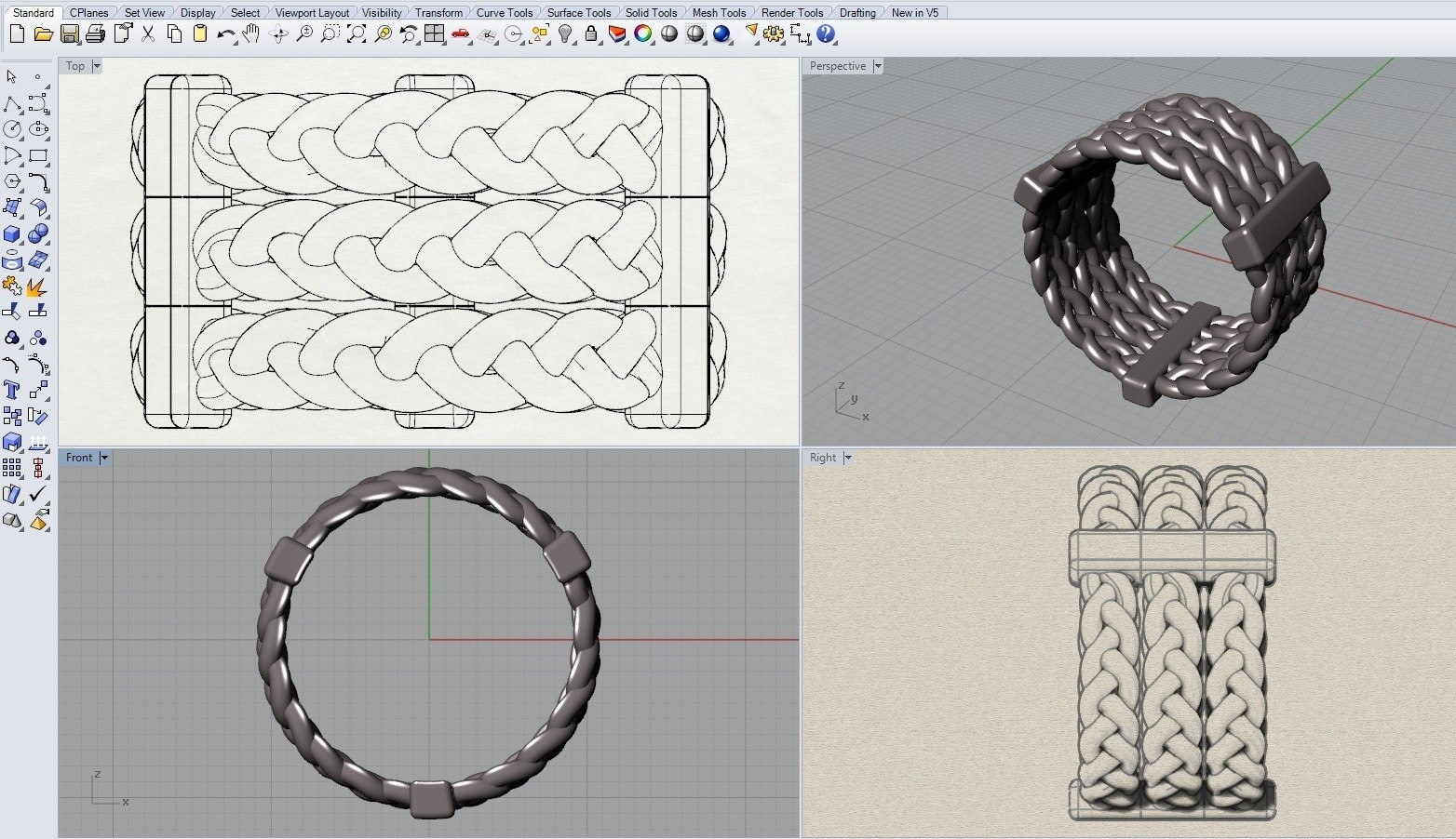 4.jpg Download free STL file braiding  • Model to 3D print, tulukdesign