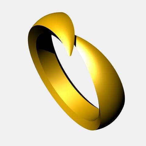 1.jpg Download STL file WEDDING RING - 001 • Model to 3D print, tulukdesign