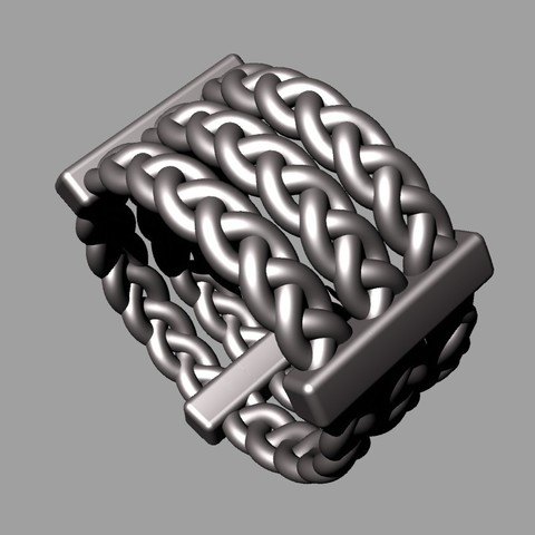Free 3D model braiding , tulukdesign