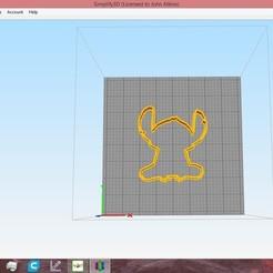 1.jpg Download STL file stitch cookie cutter set • 3D print model, ready2crash