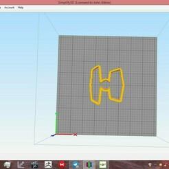 capture2.jpg Download STL file star wars cookie cutter set 5 • Design to 3D print, ready2crash