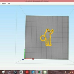 capture2.jpg Download free STL file walt and the child cookie cutters • 3D printer object, ready2crash