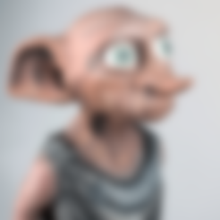 Download free 3D printing designs DOBBY - Harry Potter, TheTNR