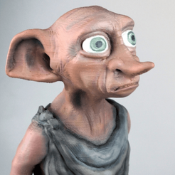 Descargar STL gratis DOBBY - Harry Potter, TheTNR
