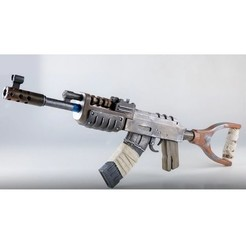 Download free 3D printer designs AK-47 DESERT, TheTNR