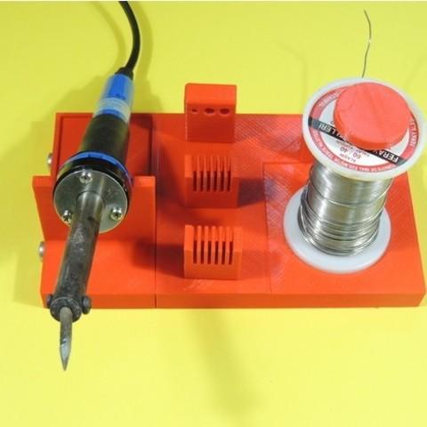 Download free 3D printer templates SOLDERING STATION, TheTNR