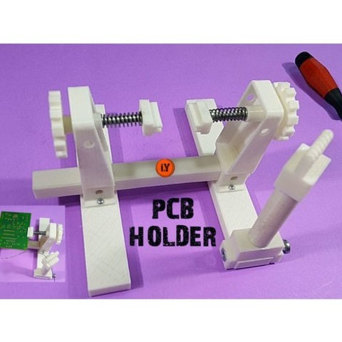 Download free 3D printing designs PCB HOLDER Evo, TheTNR