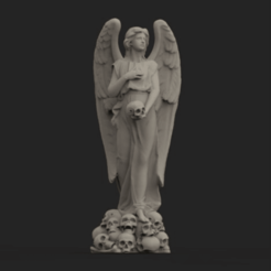 Download free 3D print files ANGEL OF DEATH, TheTNR
