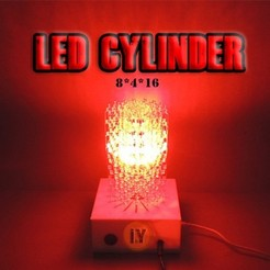 deneme2.jpg Download free STL file HUGE LED CYLINDER • 3D printer object, TheTNR