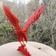 Free 3D printer files 3D PUZZLE : RED EAGLE, TheTNR
