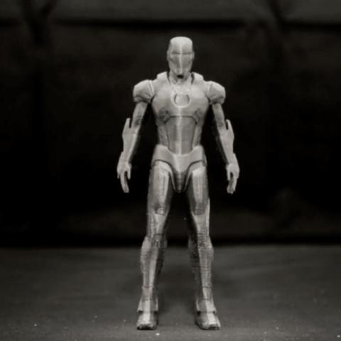 Capture d'écran 2018-04-10 à 17.22.04.png Download free STL file IRON MAN ( Mark 7 ) • 3D printable model, TheTNR
