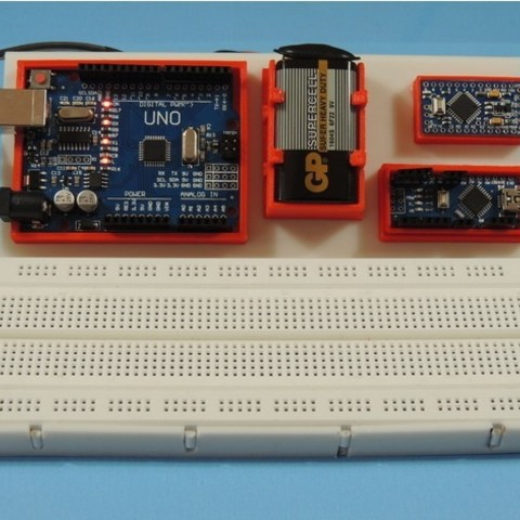 d5a0625968ffb79877dc44b4145258e5_preview_featured.jpg Download free STL file BOARDUINO – ARDUINO ALL IN ONE BREADBOARD STAND • 3D printing template, TheTNR