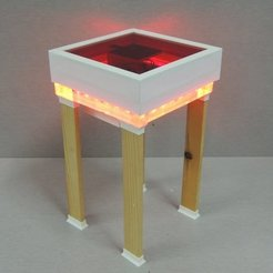 Free 3D printer designs SMART COFFEE TABLE, TheTNR